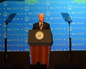 Vice President Joe Biden Photo by Melissa Gerr