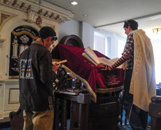 """B'nai Israel, which calls itself """"The Downtown Synagogue,"""" holds a morning minyan. (Provided)"""