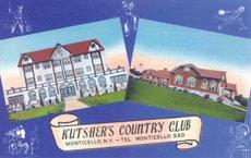 A Kutsher's postcard.