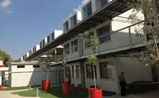 A student village built by Ayalim in the embattled town of Sderot will house 300 students next year.