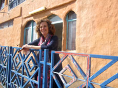 Zili Grossman, a former PR  professional for Eilat's hotel scene, now runs an aid organization for the city's poor.
