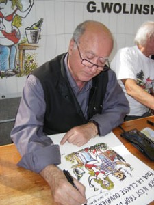 Celebrated French Jewish cartoonist Georges Wolinski was killed in the attack on the Paris headquarters of the satirical newspaper Charlie Hebdo on Jan. 7, 2015. (Wikimedia Commons)