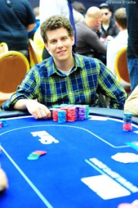 Ari Engel's favorite poker game is Texas Hold 'Em, where buy-ins can reach $10,000.