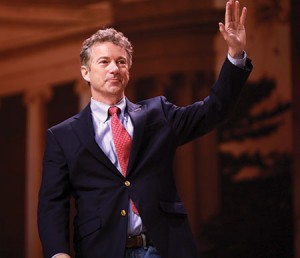 Sen. Rand Paul (R-Ky.) speaks at the 2014 Conservative Political Action Conference in March.