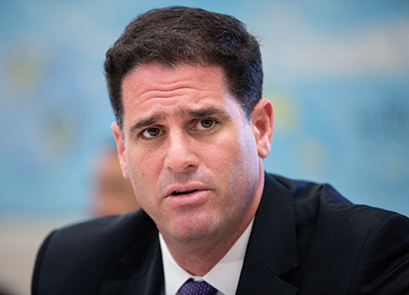 Ron Dermer (JOSHUA ROBERTS/REUTERS/Newscom)