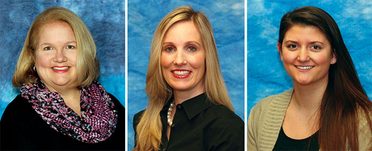 Kim Schmulowitz, Laura Pichotta, Sarah  Cordi (Photos provided)