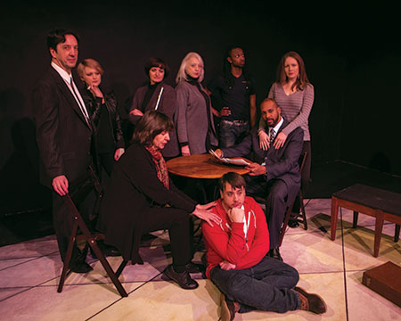 The notions of power, motivation, guilt and innocence are challenged in 'Hamlyn,' now playing at Fells Point Corner Theatre. (Photos Provided)