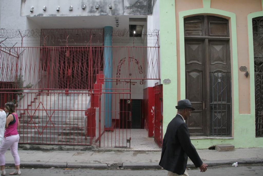 Chabad emissaries won't step foot in Havana's Orthodox synagogue, Adath Israel. (Josh Tapper)
