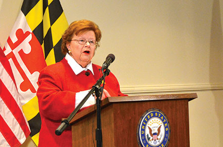 Sen. Barbara Mikulski, the longest-serving woman in the U.S. Senate, has announced she will not be running for a sixth term. (Melissa Gerr)