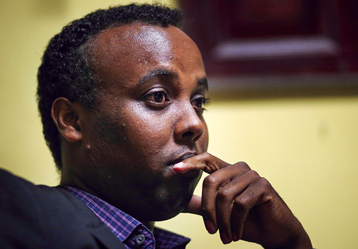 Mohamed Farah, director of Ka Joog, is a leader among Minneapolis' Somali organizations in his efforts to engage and connect young Somali men and women to the community. (David Joles/ZUMA Press/Newscom)