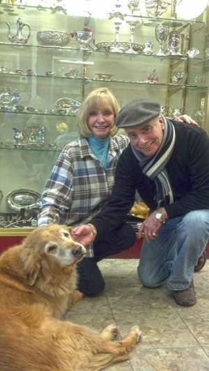 Jory and Barbara Newman plan to close their longtime Northwest Baltimore shop, Pikesville Silver and Antiques, by the end of spring. (Pam Stegemarten)