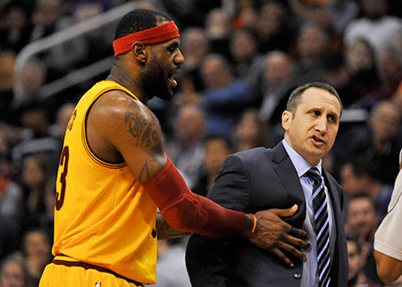 Coach David Blatt and star player LeBron James both say that Blatt has made the needed adjustments in his rookie season guiding the Cleveland Cavaliers.