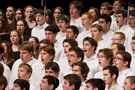 For many choir members, fostering Jewish identity is one of HaZamir's strengths. (Provided)