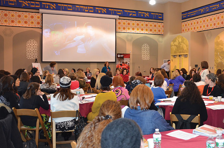Two hundred Jewish mothers filled the Pearlstone Center in  Reisterstown for three days of learning and leadership training. (Photos provided)