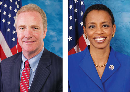 Reps. Chris Van Hollen and Donna Edwards are two Democrats battling for  Sen. Barbara Mikulski's seat.