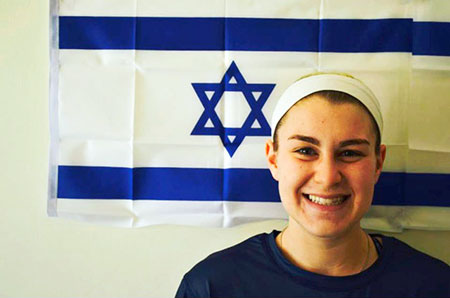 Roland Park Country School senior Jenna Baverman will compete for Team Israel at the Women's 2015 U19 Lacrosse World Championship in Scotland this summer. (Photos Provided)