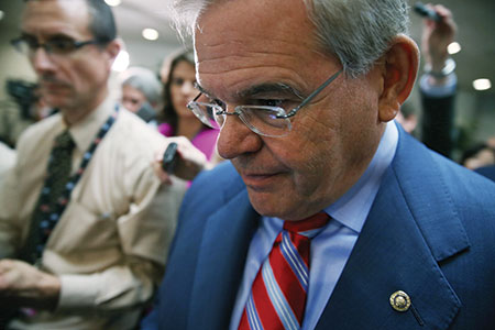 Sen. Robert Menendez (D-N.J.)  (Mark Wilson/Getty Images)