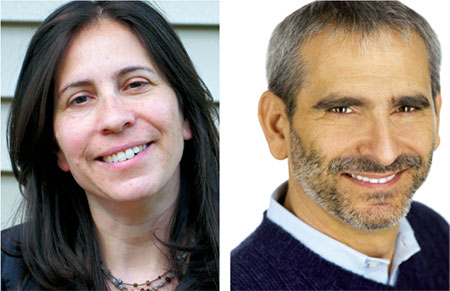 Miryam Kabakov and Rabbi Steve Greenberg are co-founders and co-directors of Eshel, which  provides support, education and advocacy for  LGBT Orthodox Jews and their families. (Photos Provided)