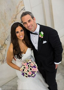 Genna & Josh Bross  First Date:  March 2, 2013   Where:  Vino Volo in Bethesda  Wedding Date:  Nov. 1, 2014  Venue:  Hotel Monaco in Baltimore  Residence:  Columbia  Favorite Activity:  Working out