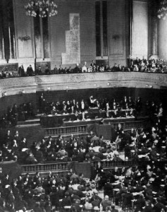 The second World Zionist Congress was held in Basel, Switzerland in 1898. (Public Domain)
