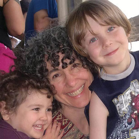Danielle Meitiv with her children in a family photo. (Provided)