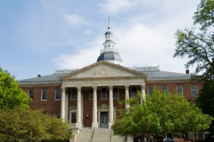 State Capitol building, Annapolis, Maryland, (Photo Newscom)