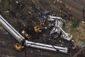 Eight riders were killed and more than 200 injured in last week's Amtrak crash. (LUCAS JACKSON/REUTERS/Newscom)