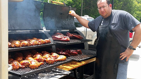 It will be a homecoming for Chaim Goldfeder, who is bringing his kosher barbecue all the way from Dallas. (Provided)