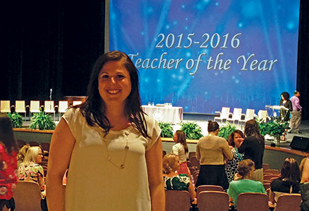 "New Town High School teacher Orly Mondell, according to a  colleague, ""is like a magnet that pulls everyone in."" (Provided by Orly Mondell)"