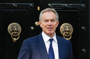 Tony Blair was the so-called Quartet's Middle East envoy. (FACUNDO ARRIZABALAGA/EPA/Newscom)