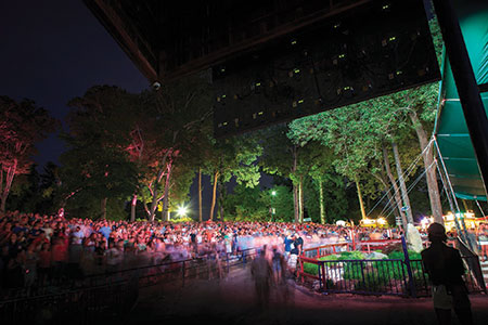 Merriweather Post Pavilion in Columbia hosts a diversity of musical acts and festivals this summer. (Provided)