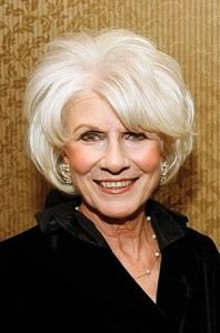 Diane Rehm, National Public Radio host  (BILL GREENBLATT/UPI/Newscom)