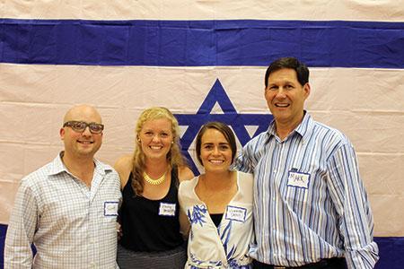 From left: Scott Neiss, Emily Brodsky, Hannah Deoul and Mark Greenberg. (Justin Katz)
