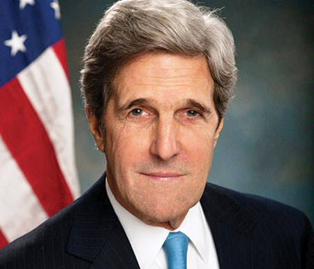"""Secretary of State John Kerry, according to a spokesperson, is """"very excited"""" about the release of the Human Rights Reports. (United States Department of State )"""