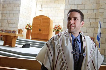 Rabbi Benjamin Sharff (Justin Tsucalas)