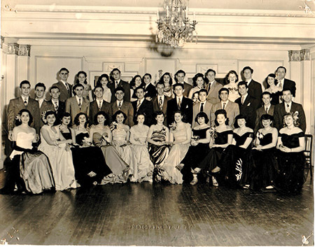 A Panther Club anniversary affair at the Belvedere Hotel, circa 1955. (Photo provided)