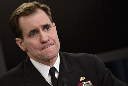 State Department  spokesman JohnKirby (DoD Photo by Glenn Fawcett/Public Domain)