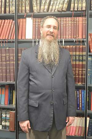 """Rabbi Frederick """"Ephraim"""" Karp (file photo)"""