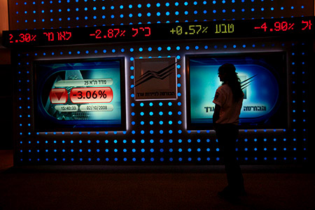 An EUrecommendation played havoc with  Israel's stock market.