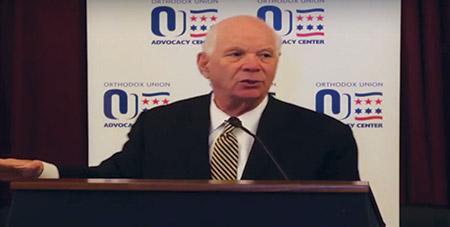 As part of an OU video clip, Sen. Ben Cardin (D-Md.) talks about the Iran nuclear deal.