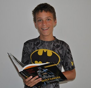 Eli Kuperman will have his bar mitzvah on Sept. 5, the Saturday morning after the Superhero Shabbat event.