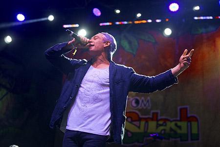 Matisyahu performs at the Rototom Sunsplash Festival.
