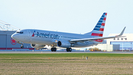 The last American Airlines flight out of Philadelphia will be on Jan.4.
