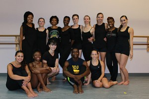 The Baltimore Full Circle Dance Company practices at Morton Street Dance Center every Tuesday and Thursday. While many of the members live in  Baltimore, some members travel from Washington, D.C. twice a week.