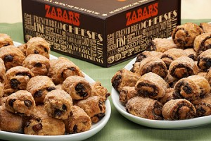 The rugelach from Zabar's come from an old family recipe. (Photo by Juan Lopez)
