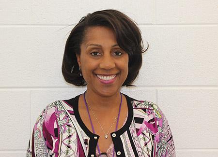Sandra Reid is the new principal of Pikesville High School.