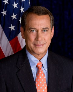 SPEAKER OF THE HOUSE JOHN BOEHNER (R-OHIO) WILL RESIGN FROM CONGRESS AT THE END OF OCTOBER. FILE PHOTO.