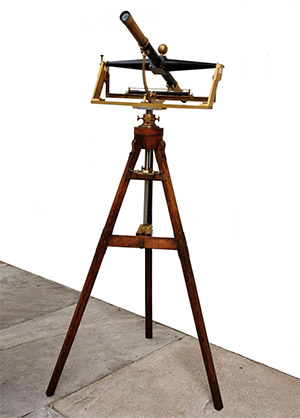 The original Bird Transit, designed by John Bird, and used by Mason and Dixon. (Provided)