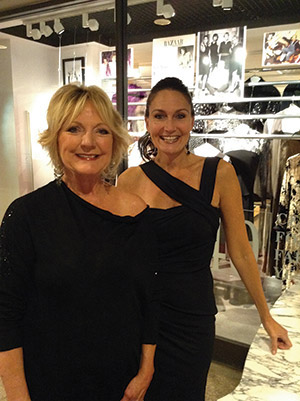 Jones & Jones owner Florence Sokol (left) and manager Karen Ciurca-Weiner announced the closing of the store after 45 years on Oct. 22. (Provided)