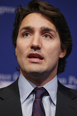 Justin Trudeau has pressed all the right buttons in his support for Israel.